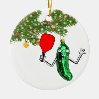 Pickleball Collectible Ceramic Ornament