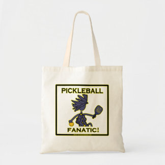 Pickleball Fanatic Budget Tote Bag
