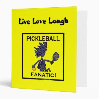 Pickleball Fanatic Gifts & T Shirts Binder