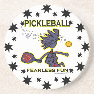 Pickleball Fearless Fun Coaster