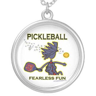 Pickleball Fearless Fun Custom Necklace