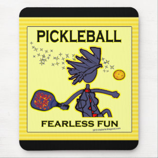 Pickleball Fearless Fun Mouse Pad