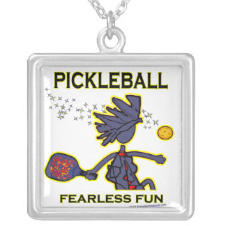 Pickleball Fearless Fun Necklace
