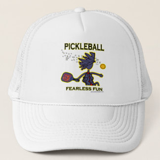 Pickleball Fearless Fun Trucker Hat