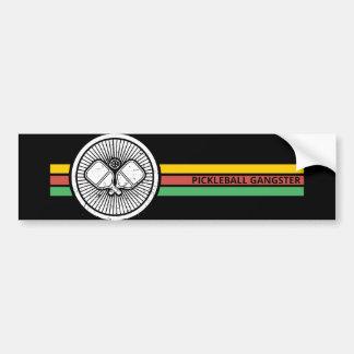 Pickleball Gangster - Bumper Sticker
