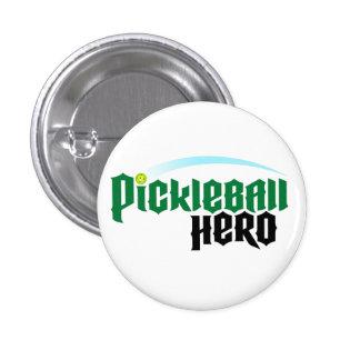 """Pickleball Hero"" Logo Button"