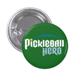 """Pickleball Hero"" Logo Button (green)"