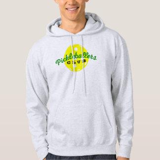 """Pickleball Hoodie shirt: """"Pickleballers CLUB"""""""