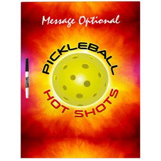 Pickleball Hot Shots 1 Dry-Erase Boards