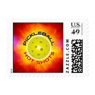Pickleball Hot Shots 1 Postage