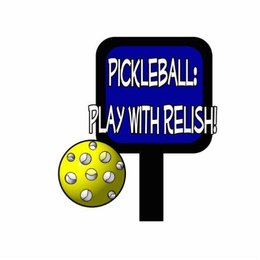 ¡Pickleball - juego con el condimento! Idea del re Esculturas Fotográficas