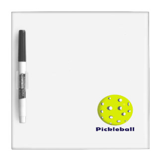 pickleball just ball n text.png Dry-Erase board