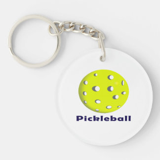 pickleball just ball n text.png keychain