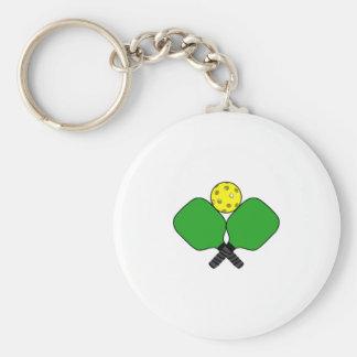 Pickleball Keychain