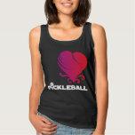 Pickleball Love - Fancy Heart Basic Tank Top
