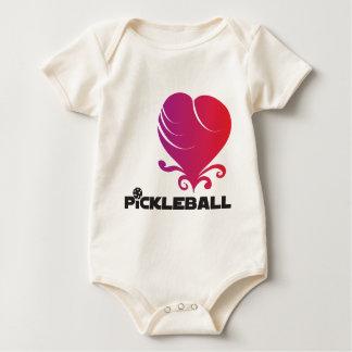 Pickleball Lovei Baby Bodysuit
