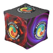 Pickleball Lover 1 Options Poufs Cube Pouf