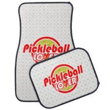 Pickleball Lover 2A Options Floor Mats Car Mat