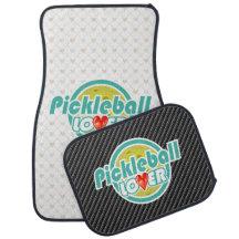 Pickleball Lover 2B Options Floor Mats Floor Mat