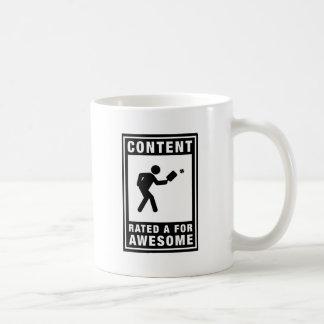 Pickleball Classic White Coffee Mug