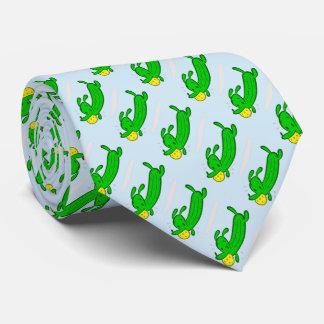 Pickleball Necktie: Pickle Dog Tie