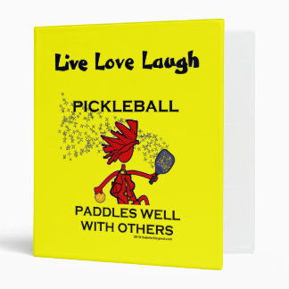 Pickleball Paddles Well With Others Binder