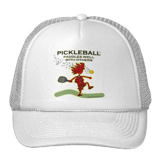 Pickleball Paddles Well With Others Mesh Hat