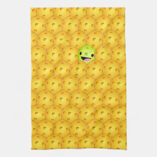 Pickleball Pop Sports Towel at Zazzle