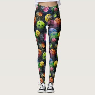 Pickleball Print Leggings
