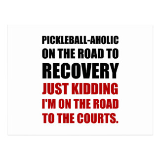 Pickleball Raod To Rocvery Courts Postcard