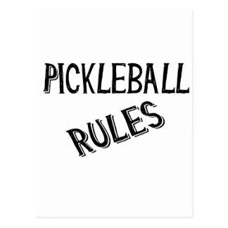 pickleball rules bernice black pickle ball postcard
