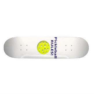 pickleball rules blue text version skateboard