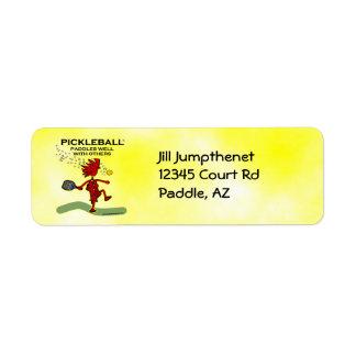 Pickleball se bate bien con otros etiqueta de remitente