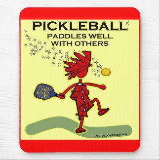Pickleball se bate bien con otros tapetes de ratones