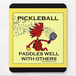 Pickleball se bate bien con otros tapete de ratón