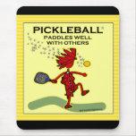 Pickleball se bate bien con otros tapetes de raton