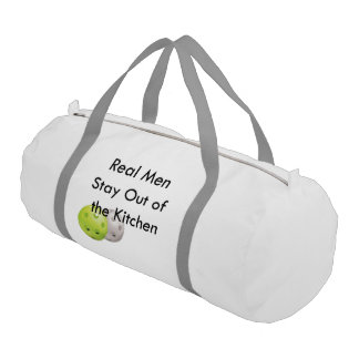 Pickleball -- stay out of the kitchen! gym bag