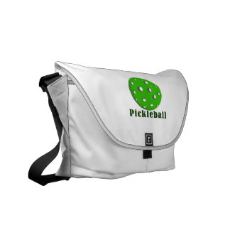 pickleball text n ball green.png courier bag