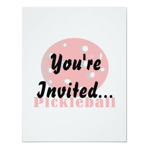 pickleball text n ball red.png 4.25x5.5 paper invitation card