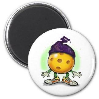Pickleball Wizard 2 Inch Round Magnet