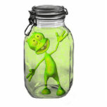 Pickled Alien Photo Cut Out