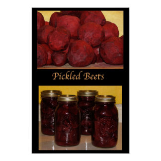 Pickled Beets Poster