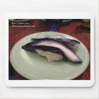 Pickled Eel Sashimi Dish Gifts Cards Mugs Etc Mouse Pad