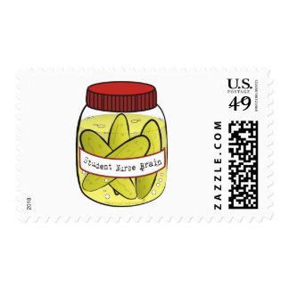 Pickled_Student_Nurse_Brain Stamp