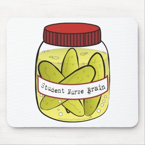 Pickled_Student_Nurse_Brain Alfombrillas De Ratones