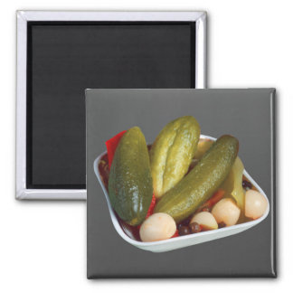 Pickles 2 Inch Square Magnet