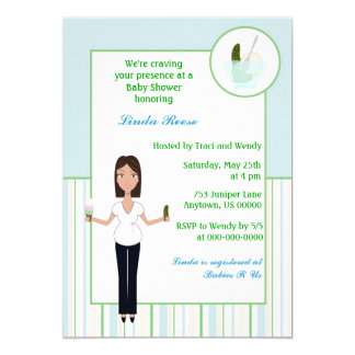 Pickles and Ice cream Boy Baby Shower Invite