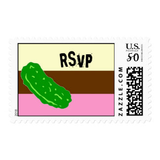 Pickles and Ice cream postage