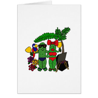 Pickles in Paradise Card