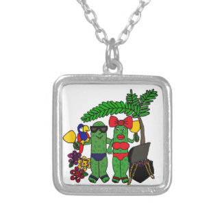 Pickles in Paradise Necklaces